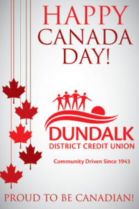 Canada Day Sign 3