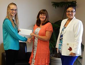 Credit Union Member Jessie Hooker Awarded $1,000.00 Learning Grant